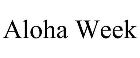 ALOHA WEEK