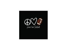 PEACE LOVE FOOTBALL