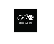 PEACE LOVE PUP