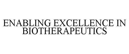 ENABLING EXCELLENCE IN BIOTHERAPEUTICS