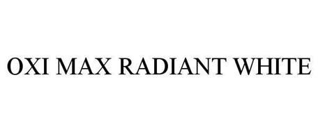 OXI MAX RADIANT WHITE