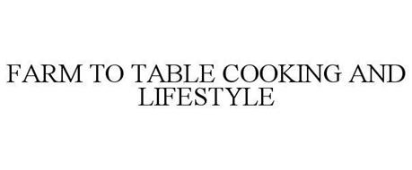FARM TO TABLE COOKING AND LIFESTYLE