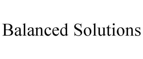 BALANCED SOLUTIONS