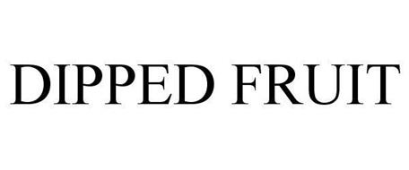 DIPPED FRUIT