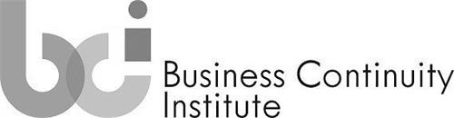 BCI BUSINESS CONTINUITY INSTITUTE