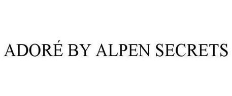 ADORÉ BY ALPEN SECRETS