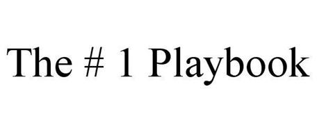 THE # 1 PLAYBOOK