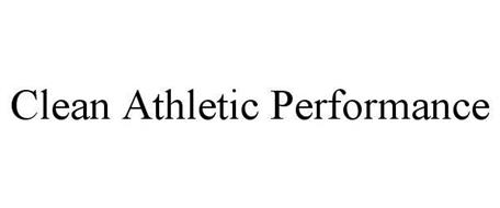 CLEAN ATHLETIC PERFORMANCE