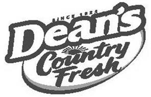 SINCE 1925 DEAN'S COUNTRY FRESH