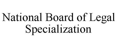 NATIONAL BOARD OF LEGAL SPECIALIZATION