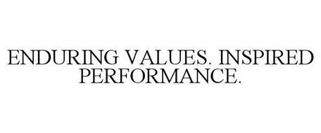 ENDURING VALUES. INSPIRED PERFORMANCE.