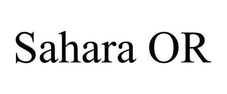 SAHARA OR