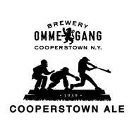 BREWERY OMME GANG COOPERSTOWN N.Y. 1939 COOPERSTOWN ALE