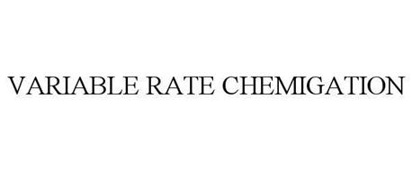 VARIABLE RATE CHEMIGATION