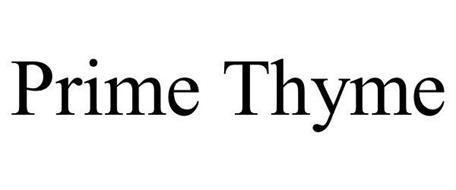 PRIME THYME