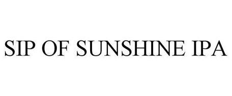 SIP OF SUNSHINE IPA