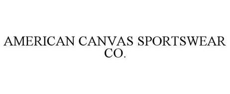 AMERICAN CANVAS SPORTSWEAR CO.