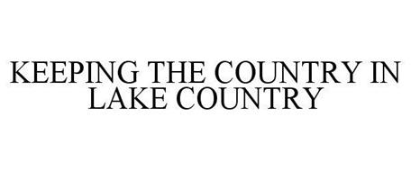 KEEPING THE COUNTRY IN LAKE COUNTRY