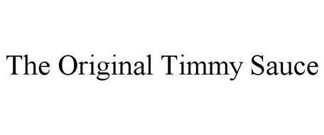THE ORIGINAL TIMMY SAUCE