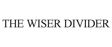 THE WISER DIVIDER