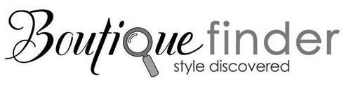 BOUTIQUE FINDER STYLE DISCOVERED