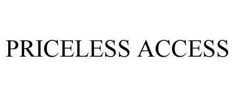 PRICELESS ACCESS