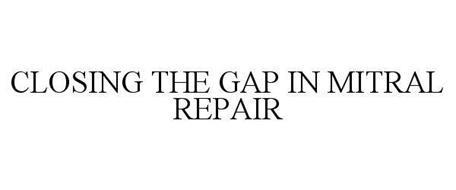 CLOSING THE GAP IN MITRAL REPAIR