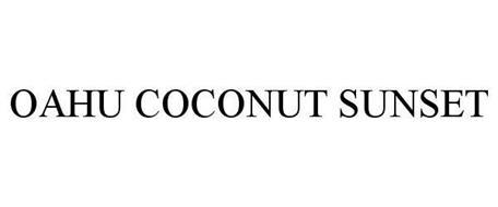 OAHU COCONUT SUNSET