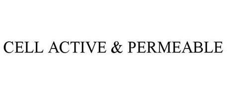 CELL ACTIVE & PERMEABLE