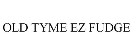 OLD TYME EZ FUDGE