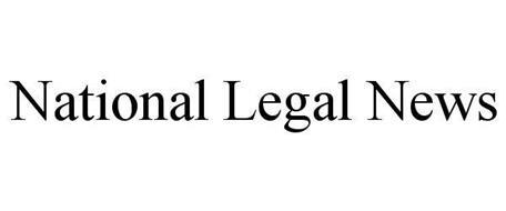 NATIONAL LEGAL NEWS