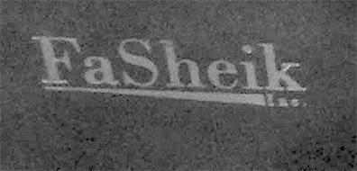FASHEIK INC