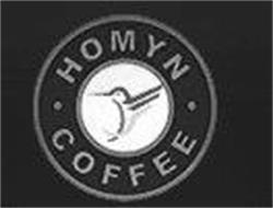 HOMYN · COFFEE ·