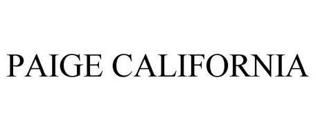 PAIGE CALIFORNIA