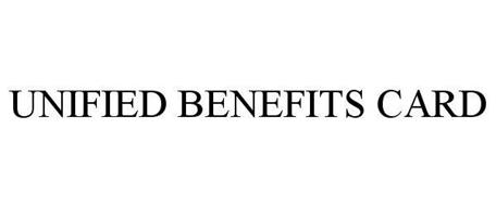 UNIFIED BENEFITS CARD
