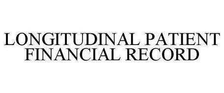 LONGITUDINAL PATIENT FINANCIAL RECORD