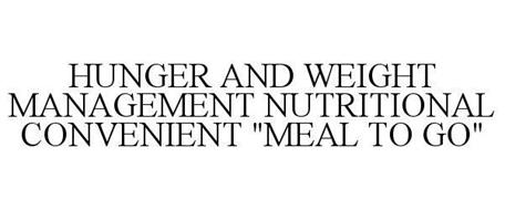HUNGER AND WEIGHT MANAGEMENT NUTRITIONAL CONVENIENT