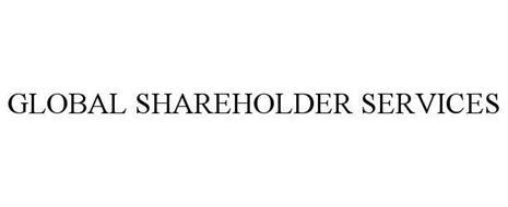 GLOBAL SHAREHOLDER SERVICES