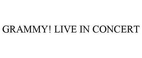 GRAMMY! LIVE IN CONCERT