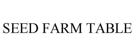 SEED FARM TABLE