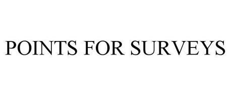 POINTS FOR SURVEYS