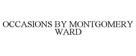 OCCASIONS BY MONTGOMERY WARD