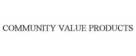 COMMUNITY VALUE PRODUCTS