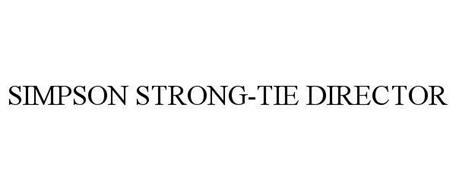 SIMPSON STRONG-TIE DIRECTOR