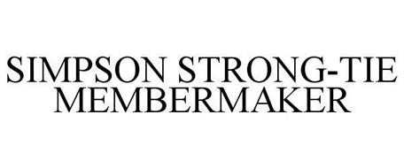 SIMPSON STRONG-TIE MEMBERMAKER