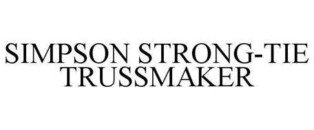 SIMPSON STRONG-TIE TRUSSMAKER