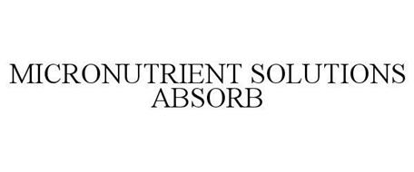 MICRONUTRIENT SOLUTIONS ABSORB
