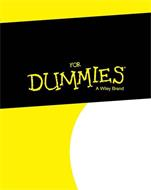 FOR DUMMIES A WILEY BRAND