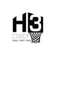 H3 CINCY HOOPS. HEART. HOPE.