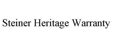 STEINER HERITAGE WARRANTY
